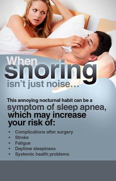 If you or your spouse #snores, visithttp://www.ashevillesmilecenter.com/sleep-apnea/index.htmlto learn about the symptoms and risks of obstructive #sleep #apnea.