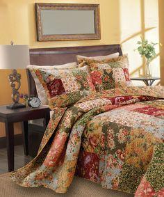 Love this Greenland Home Fashions Antique Chic Bedspread Set by Greenland Home Fashions on #zulily! #zulilyfinds