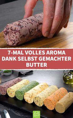 Good Food, Yummy Food, Homemade Butter, Herb Butter, Food Platters, Butter Recipe, Finger Foods, Food Videos, Food Inspiration