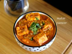 matar paneer recipe, restaurant style matar paneer with step by step photo/video recipe. this exotic paneer curry is cooked in a tomato & onion based sauce.