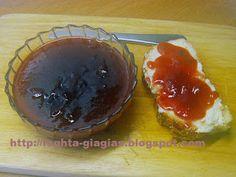 Τα φαγητά της γιαγιάς: Μαρμελάδα Βανίλια φρούτο Caramel, Mousse, Fruit Jam, C'est Bon, Greek Recipes, Bon Appetit, Preserves, Jelly, Sweet Treats