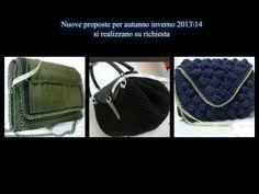 Uncinetto e Fantasia di Sabrina - Borse in fettuccia handmade collezione autunno inverno 2013/2014