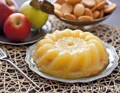 Nepečená jablková torta