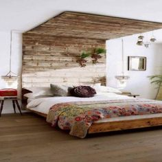 Antique Headboard And Canopy For Classical Bed Design Idea , Unusual Headboards For Beds Adding Extraordinary Effect To Your Bedroom Decor In Bedroom Category
