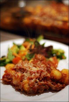 crumbs for dinner: Tuna Gnocchi Bake