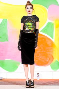 Manish Arora Fall 2012 Ready-to-Wear Collection Photos - Vogue