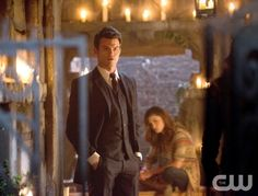 """The Originals -- """"Always and Forever"""" -- Image Number: OR102b_0325.jpg -- Pictured (L-R): Daniel Gillies as Elijah and Phoebe Tonkin as Hayley -- Photo: Bob Mahoney/The CW -- © 2013 The CW Network, LLC. All rights reserved"""