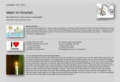 Blog Nr. 07 > Senioren Magazin: Im Senioren-Magazin *** Hirschen Newsletter 2015/1...