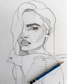 Pin by xxxpandalovexxx on art ideas in 2019 dibujar arte, di Pencil Art Drawings, Art Drawings Sketches, Bright Art, Desenho Tattoo, Drawing Techniques, Art Sketchbook, Drawing People, Doodle Art, Art Inspo