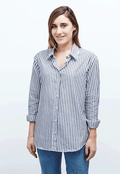 How to Make Your Standard Button-Down Look High-End via @WhoWhatWearAU