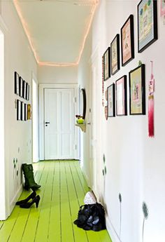 paint floor and keep walls white. A neat look...if only our landlords would let us do this