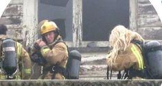 Te Uri House Burn 2010 NZ Fire Service - Lindsey Randall Qualified Fire Fighter NZ Fire Service