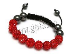 rhinestone shamballa bracelet http://www.gets.cn/product/Rhinestone-Shamballa-Bracelets_p750450.html