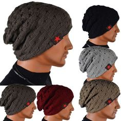 Cheap cap brand, Buy Quality cap soccer directly from China cap ventilator Suppliers: gorro winter autumn reversible beanie hat ,touca gorro,snow caps knit hat skull chunky baggy warm unisex skullies Crochet Beanie Hat, Slouch Beanie, Beanie Hats, Knitted Hats, Winter Hats For Men, Hats For Women, Winter Caps, Skateboard Hats, Ski Hats