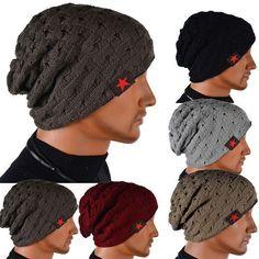 winter autumn reversible beanie men hat womens hats,touca gorro,snow caps knit hat skull chunky baggy warm unisex skullies