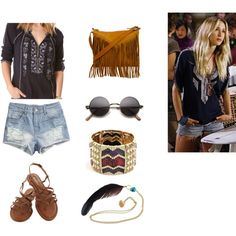 """How to dress like Ivy from 90210"" by gianinapratana on Polyvore"