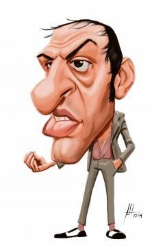 Italian Singer Adriano Celentano by Protesilao on Wittygraphy
