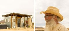 One Man's Journey in Off-Grid Sustainable Living in the Texas Desert. #TinyHouseforUs