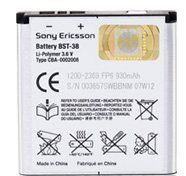 Buy Sony Ericsson Battery Bst-38 For Sony Ericsson C702, Sony Ericsson Z780, Sony Ericsson Z770I, Sony Ericsson Z555I, Sony Ericsson Z520I, Sony Ericsson Xperia X10 Mini, Sony Ericsson W980I, Sony Ericsson W902, Sony Ericsson W760I, Sony Ericsson W710I, Sony for 11.08 USD | Reusell