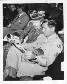 Lucy and Her Soldier-RIcky and Lucy during WWII