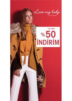 %50'ye varan indirim! Love my body, #Terracity 2. Katta.