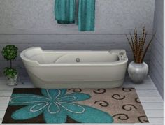 Bath Rugs | Get your bathroom Festooned with Chic Bathroom Rugs