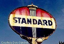 Vintage Standard Oil Sign