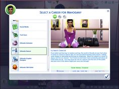 Career path mods are common in the sims 4 modding community, but a few always stand out for being the best of the best. one of those is the ultimate dancer Los Sims 4 Mods, Sims 4 Cas Mods, Sims 4 Mods Clothes, Sims 4 Clothing, Sims 4 Traits, Sims 4 Gameplay, Casas The Sims 4, Sims 4 Cc Packs, Sims 4 Characters