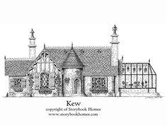 Storybook Home Kew design. My dream home.