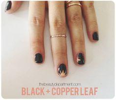 beauty department copper black nails
