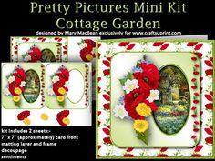 Pretty Pictures Mini Kit - Cottage Garden