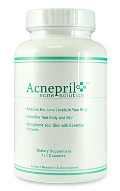 Acnepril: get rid of acne by balancing hormones, detoxifying, and cleansing the skin.
