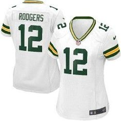 a08df13754d Women's Nike Green Bay Packers #12 Aaron Rodgers Elite White Jersey$109.99