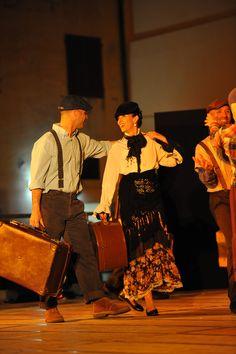 Tango cuento, I migranti, Giacomo e daniela