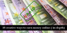 10 creative ways to earn money online (in-depth)