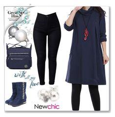 """Newchic1"" by merisa-imsirovic ❤ liked on Polyvore"