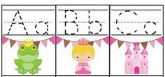 Princess tracing cards - free   need to make these for my niece!