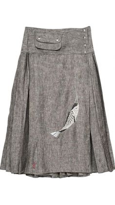 Skirts : Skirt Muscari Fish Lantern