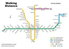 How long will it take you to walk from Bloor to Queen Station - you know, if there's a major subway delay or something and you don't feel like taking a shuttle bus? Now, you no longer have to guess thanks to a handy subway Walking Distance Map. Pavlo Kalyta,...