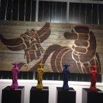 « La Goldo Expo » -  Du 5 novembre 2014 au 17 janvier 2015 - entrée libre Galerie Sakura à Paris Galerie Sakura 21 rue du Bourg Tibourg, 75004
