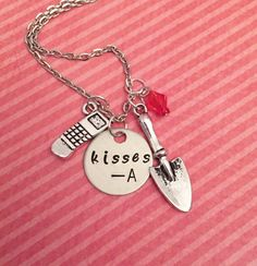 Pretty Little Liars Kisses A Necklace Pretty by LulusStampings