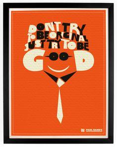 paul rand poster - Pesquisa do Google