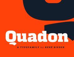 Quadon Typefamily