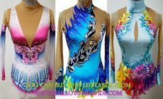 Rhythmic gymnastics leotards: LEOTARD MADE BUY M.DAVIDE
