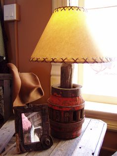Old Wagon Wheel Hub Lamp, 719.657.3111, www.coloradocowgirls.net Old Wagons, Rustic Lamps, Wagon Wheel, Ideas Para, Sweet Home, Table Lamp, Diy Crafts, Unique, Furniture