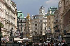 Graben es una de las calles más famosas del centro de Viena