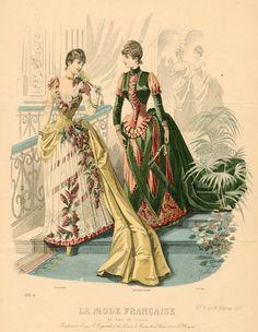 La Mode Francaise 1887