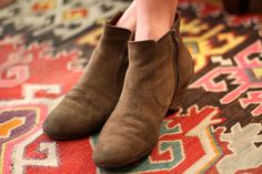Not crazy about brown but I really like these little boots.