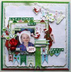 Kaisercraft - Santa's List - Sandie Edwards
