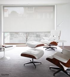 Estores y cortinas en la decoración escandinava   Decorar tu casa es facilisimo.com